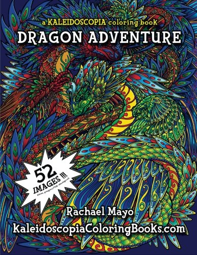 9781515255154: Dragon Adventure: A Kaleidoscopia Coloring Book