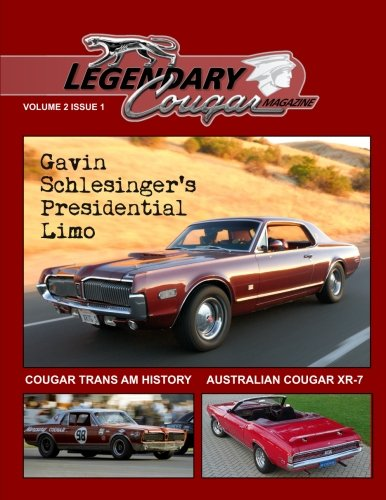 9781515258452: Legendary Cougar Magazine