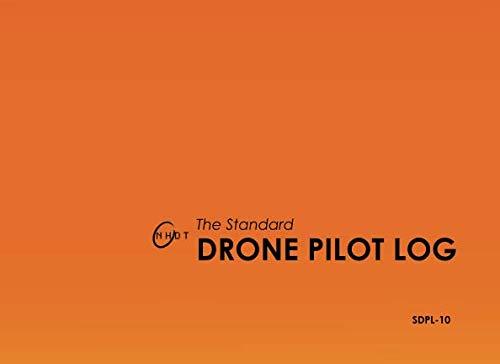 9781515272342: The Standard Drone Pilot Log: Saffron
