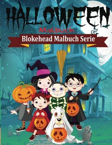 9781515275916: Halloween Malbuch (Blokehead Malbuch Serie)