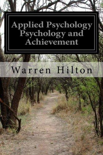 9781515282105: Applied Psychology Psychology and Achievement
