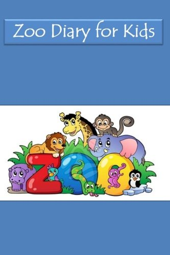 9781515301172: Zoo Diary for Kids