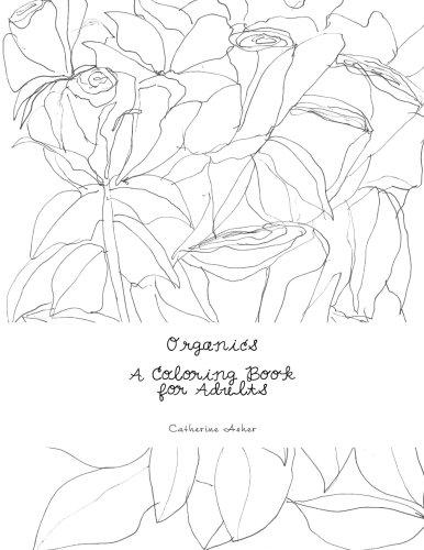 9781515311522: Organics, A Coloring Book for Adults: A Coloring Book
