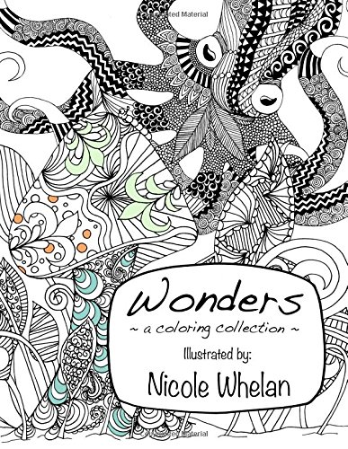 Wonders: A Coloring Collection: Nicole Whelan
