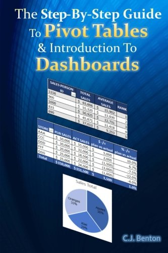 9781515313953: The Step-By-Step Guide To Pivot Tables & Introduction To Dashboards