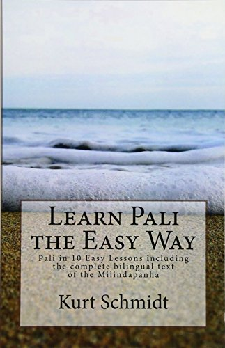 9781515323273: Learn Pali the Easy Way: Pali in 10 Easy Lessons including the complete bilingual text of the Milindapanha: Volume 2