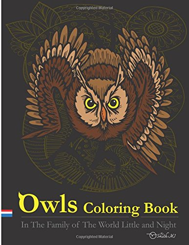 9781515339120: Owls Coloring Book : In The Family of The World Little and Night: This Owls Coloring Books Special Illustrater Printed for Adult.