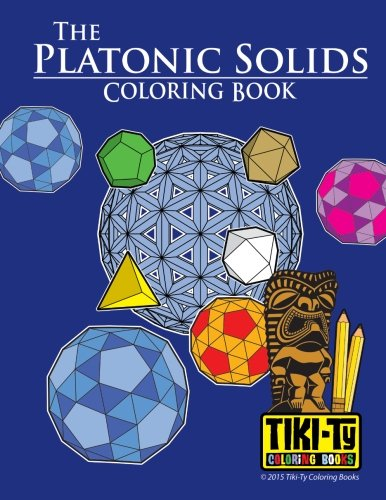 9781515340676: The Platonic Solids Coloring book (Volume 2)