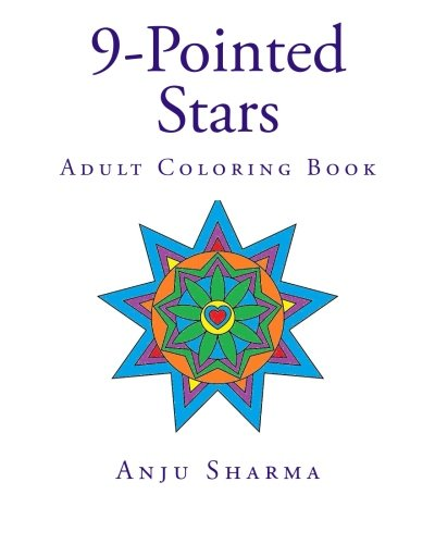 9781515349693: 19 9-Pointed Stars: Adult Coloring Book
