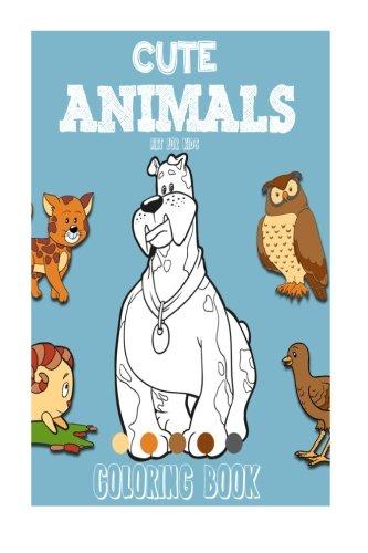 9781515350743: Cute Animals Coloring Book: Vol. 3 (Volume 3)
