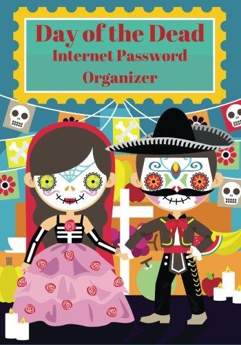 9781515381600: Day of the Dead Internet Password Organizer