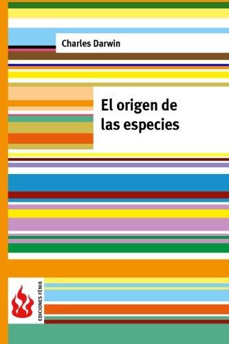 9781515383284: El origen de las especies: (low cost). Edición limitada (Ediciones Fénix) (Spanish Edition)