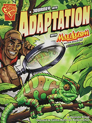 9781515746409: A Journey into Adaptation with Max Axiom, Super Scientist (Graphic Science)