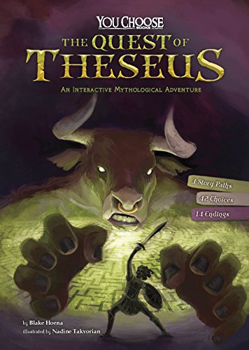 9781515748267: The Quest of Theseus: An Interactive Mythological Adventure (You Choose: Ancient Greek Myths)