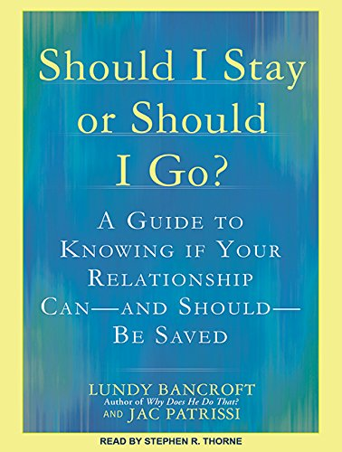9781515950110: Should I Stay or Should I Go?: A Guide to Knowing If Your Relationship Can--and Should--be Saved