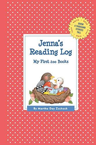 9781516205523: Jenna's Reading Log: My First 200 Books (GATST) (Grow a Thousand Stories Tall)