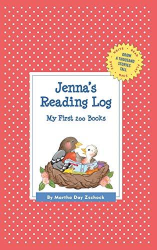 9781516230525: Jenna's Reading Log: My First 200 Books (GATST) (Grow a Thousand Stories Tall)
