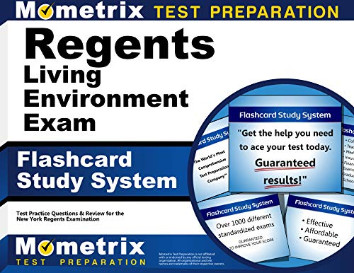 9781516700257: Regents Living Environment Exam Flashcard Study System: Regents Test Practice Questions & Review for the New York Regents Examinations (Cards)