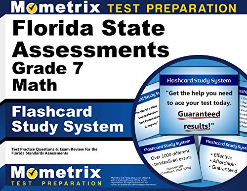 Florida State Assessments Grade 7 Mathematics Flashcard: FSA Exam Secrets