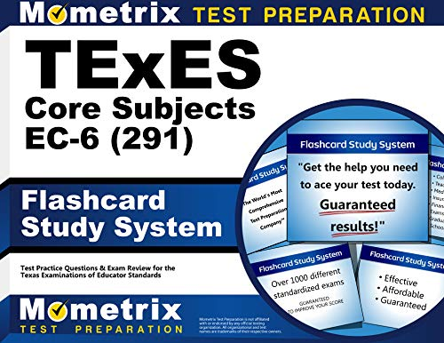 9781516702251: TExES Core Subjects EC-6 (291) Flashcard Study System: TExES Test Practice Questions & Review for the Texas Examinations of Educator Standards (Cards)