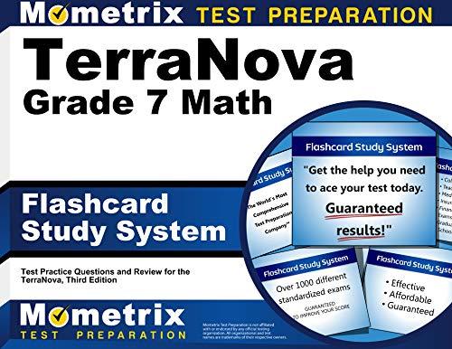 9781516703562: TerraNova Grade 7 Mathematics Flashcard Study System: TerraNova Test Practice Questions & Exam Review for the TerraNova, Third Edition (Cards)