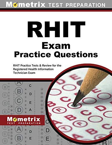 rhit exam secrets test prep team abebooks rh abebooks com RHIT Study Tips rhit study guide 2018