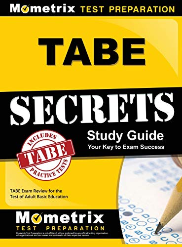 9781516705306: Tabe Secrets Study Guide: Tabe Exam Review for the Test of Adult Basic Education