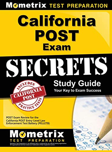 9781516705313: California Post Exam Secrets Study Guide: Post Exam Review for the California Post Entry-Level Law Enforcement Test Battery (Pelletb)