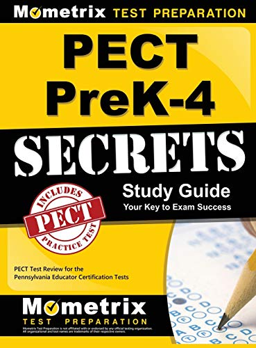 9781516705474: Pect Prek-4 Secrets Study Guide: Pect Test Review for the Pennsylvania Educator Certification Tests
