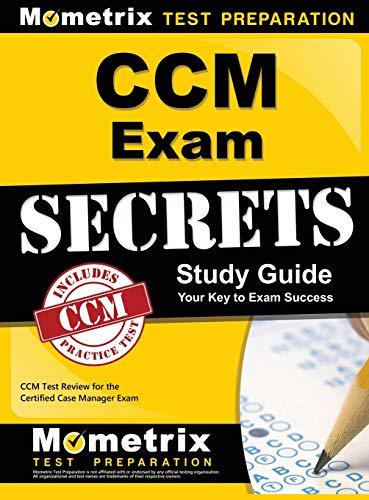 9781516705634: CCM Exam Secrets Study Guide: CCM Test Review for the ...