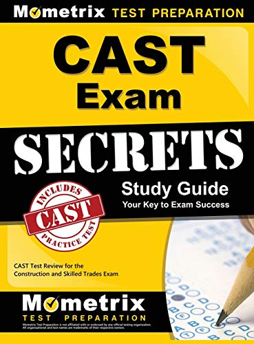 9781516707928: Cast Exam Secrets Study Guide: Cast Test Review for the Construction and Skilled Trades Exam