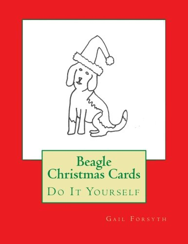 9781516812714: Beagle Christmas Cards: Do It Yourself