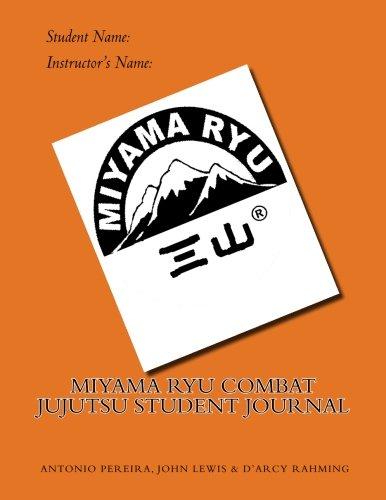9781516828128: Miyama Ryu Combat Jujutsu Student Journal