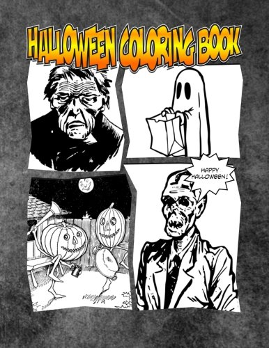 9781516832385: Halloween Coloring Book: The Spooktaculous Halloween Coloring Book Adventure You Now Want!