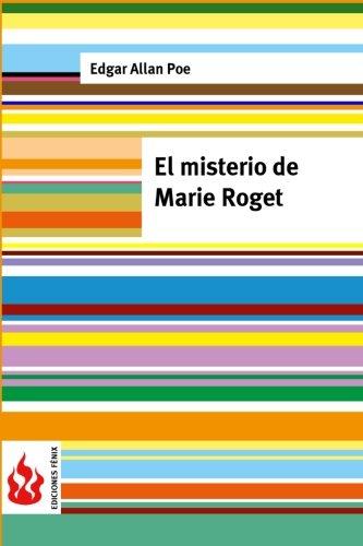 9781516833429: El misterio de Marie Roget: (low cost). Edición limitada (Ediciones Fénix)