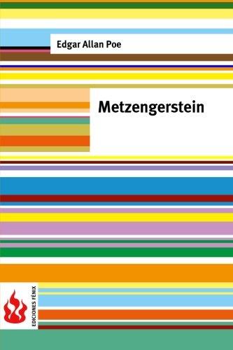 9781516834464: Metzengerstein: (low cost). limited edition