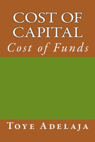 9781516849055: Cost of Capital: Cost of Funds