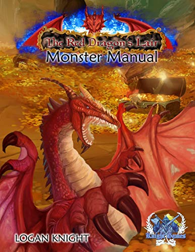 9781516859238: Manual of Monsters: For Red Dragon's Lair Role Playing Game (The Red Dragon's Lair Role Playing Game) (Volume 2)