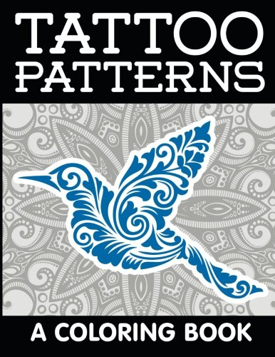 9781516860715: Tattoo Patterns: A Coloring Book