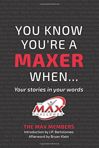 9781516875498: You Know You're a MAXER When...: Your stories in your words