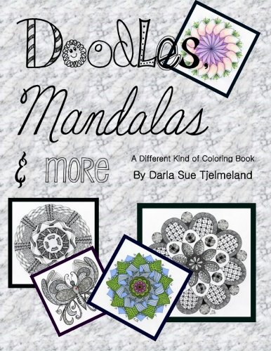 9781516880331: Doodles, Mandalas & More: A Different Kind of Coloring Book