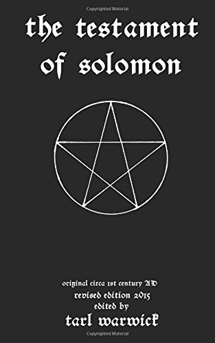 9781516890552: The Testament Of Solomon