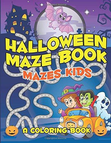 9781516894956: Halloween Maze Book: Mazes Kids