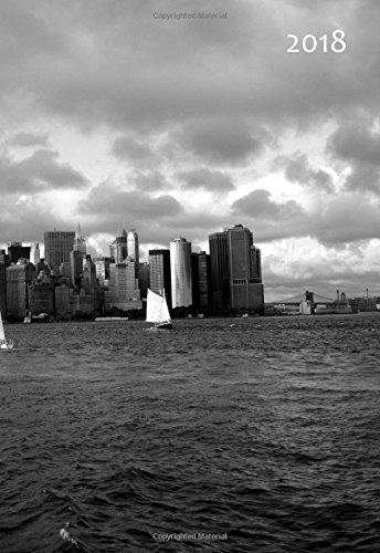 9781516908318: Mini Kalender 2018 - New York Skyline: DIN A6 - 1 Woche pro Seite