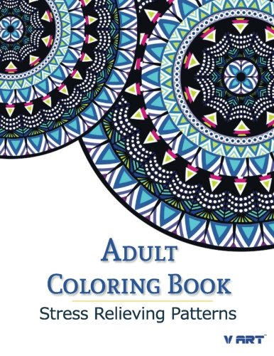9781516917136: Adult Coloring Book: Stress Relieving Patterns (Coloring Books For Adults) (Volume 1)
