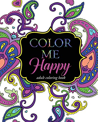 9781516921867: Color Me Happy: Adult Coloring Book