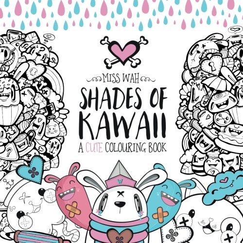 9781516928408: Shades of Kawaii: A Cute Colouring Book