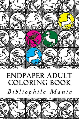 9781516934300: Endpaper Adult Coloring Book (Bibliophile Adult Coloring Books) (Volume 1)