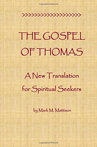9781516935185: The Gospel of Thomas: A New Translation for Spiritual Seekers