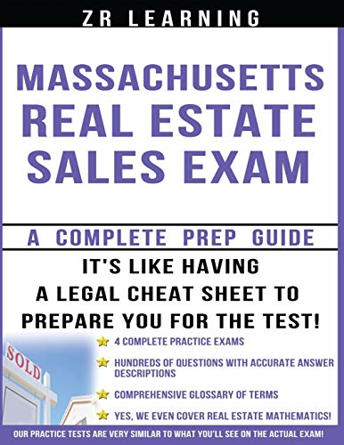 Massachusetts Real Estate Sales Exam: Principles, Concepts: Learning, Zr